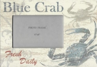 Blue Crab Picture Frame