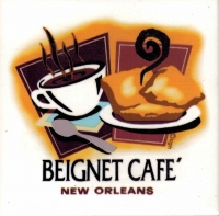 Beignet Cafe Ceramic Tile
