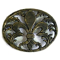 Bronze Cast Iron Trivet